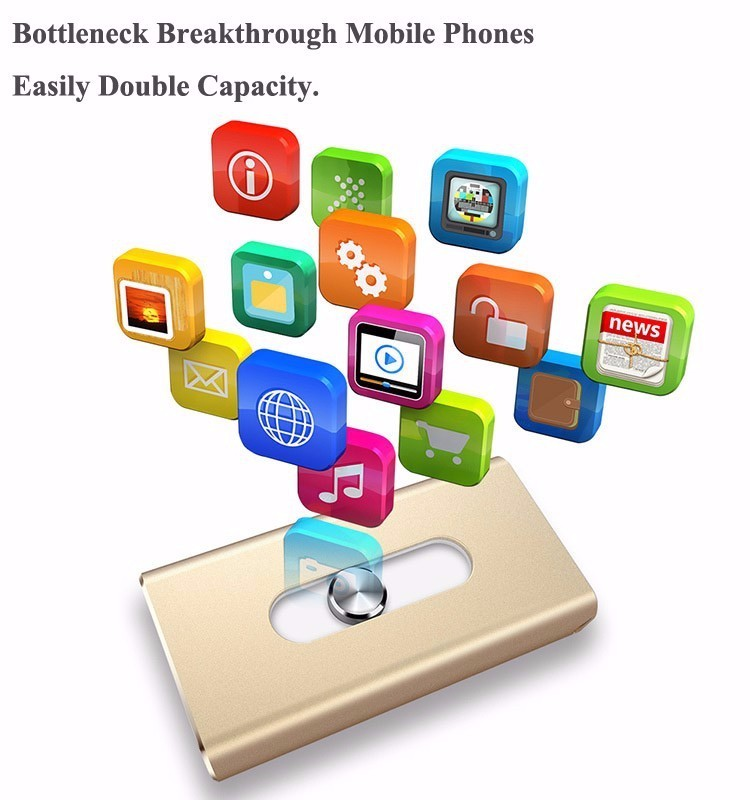 corporate giveaways memory stick dual usb flash drive for iphones and ipads