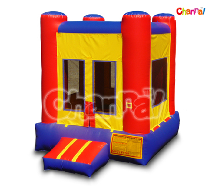 Jumping Trampoline /Inflatable Mini Red & Blue Bounce