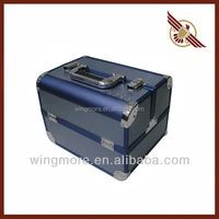 Hair stylist Aluminum tool trolley case,Custom Suitcase WM-099