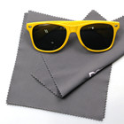 Microfiber cleaning cloths for mobile phone Printed eye glasses lens cleaning cloth