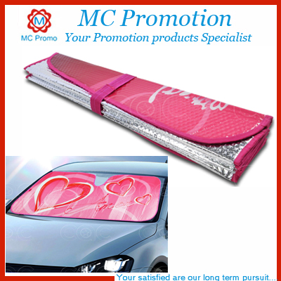 Personal Custom Printed Car Cardboard Sun Shades