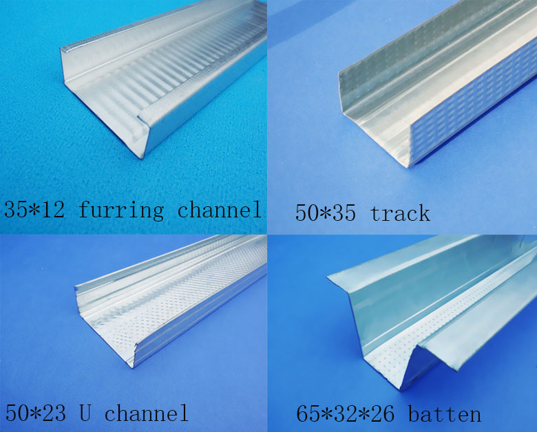 Metal Furring Channel Top Hat Roof Battens Ceiling Metal