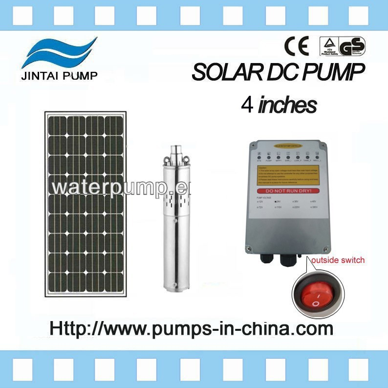 JINTAI 4 inches pump solar power system home