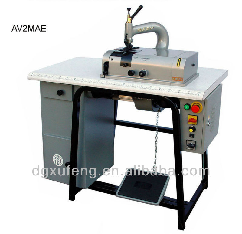 leather skiving machine, shoe factory equipment