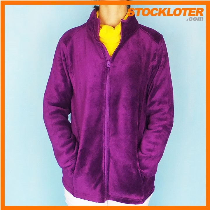 Woman Polar Fleece Winter Jacket Stock Lot