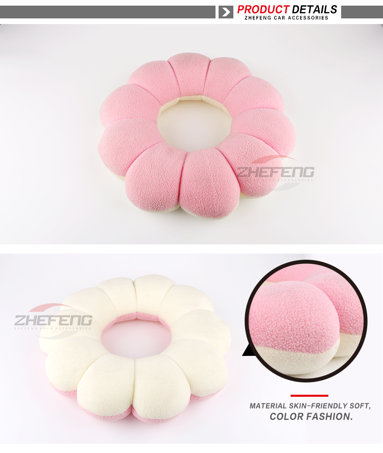 Wholesale Flower Plush Couch Case Custom Shaped Pillow Decorative And  Cushions