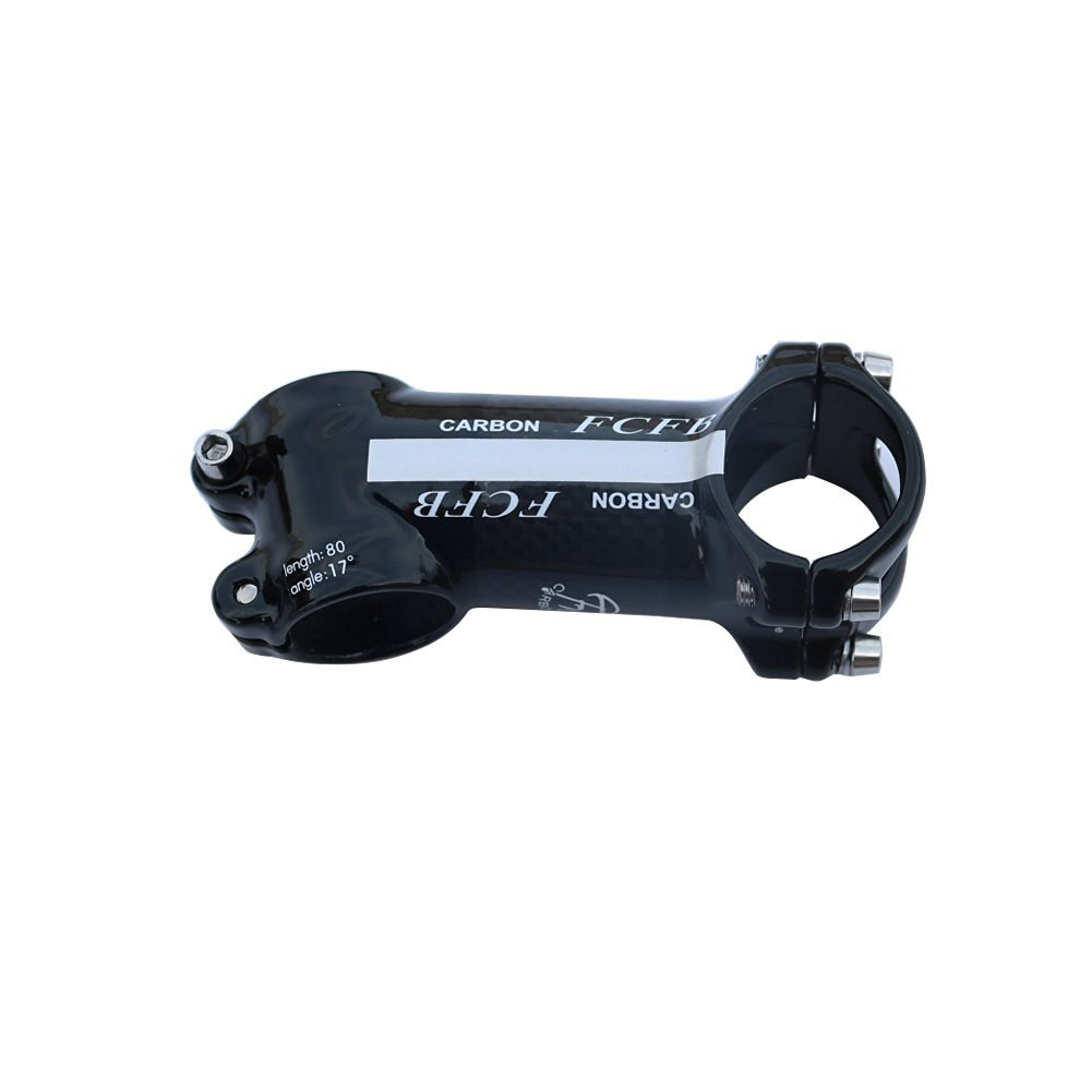 FCFB FW angle 17 stem sliver glossy Aluminum Package Carbon 80/90/100/110mm
