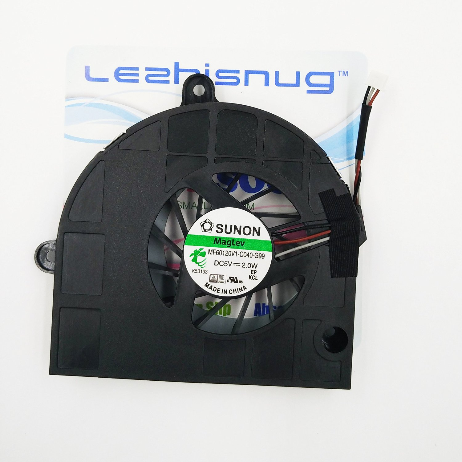 New Laptop CPU Cooling Fan for Acer Aspire 5333 5733 5733Z 5742 5742G 5742Z 5742ZG 5336 5736 5736G 5736Z 5253 5253G eMachines E529 Series MF60120V1-C040-G99 DC2800092S0