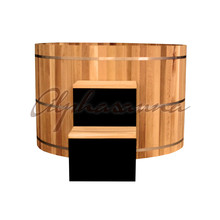 2017 New Style Canadian Red Cedar Barrel Hot Tub with soaking function