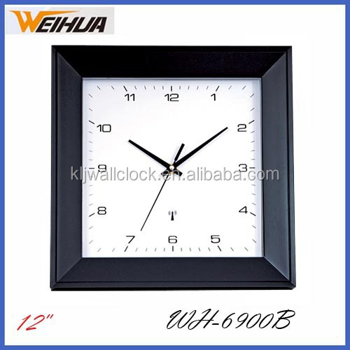 Plastic digital wifi Radio Controlled Wall Clock