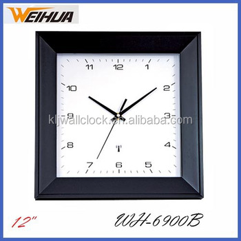 Plastic Digital Wifi Radio Controlled Wall Clock Buy Radio