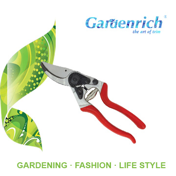 RG1389 Gardenrich drop forged bypass SK-5 steel tree hand pruning shear