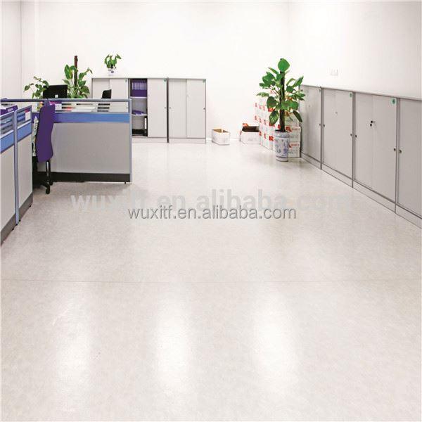 Anti Skidding Colorful Pvc Vinyl Flooring Roll White Commercial