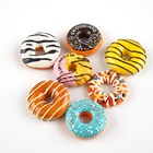 Simulation Novelty Funny Souvenir 3D Resin Toy White Board Phone Donut Home Kitchen Decor Fridge Magnet