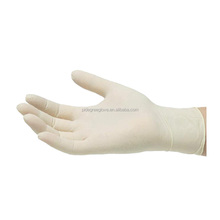 top sale non sterile medical latex examination gloves malaysia prices with powder free