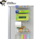 Factory price Multi-layer household refrigerator hanging fridge side kitchen basket save space storage holder rack with sucker