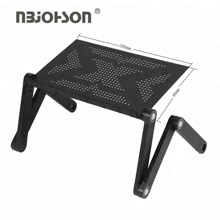 Low Price Portable Adjustable Aluminum Computer Portable Laptop Desk Stand