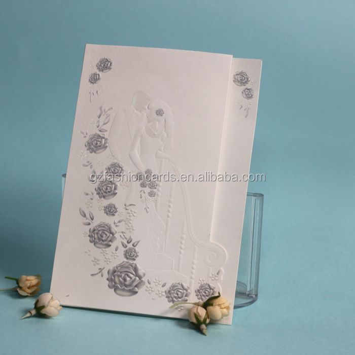 2015 Hot Sales Custom Printable Fancy Blank Greeting Cards and Envelopes