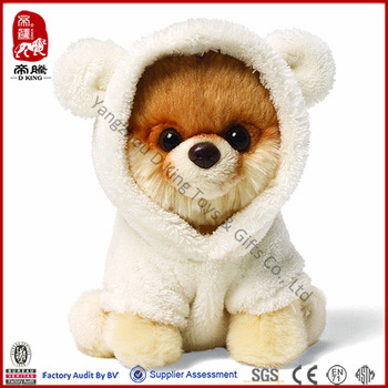 Factory Icti Sedex Gund Boo Stuffed Plush Dog Toy Buy Plush Dog