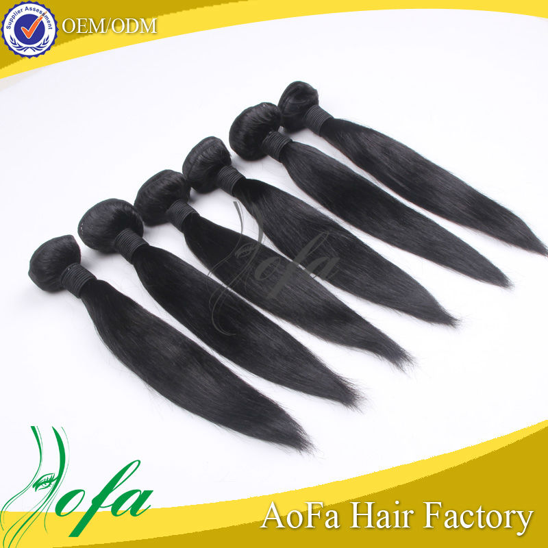 reliable quality mongolian straight hair AAAAA 32 inch hair extensions