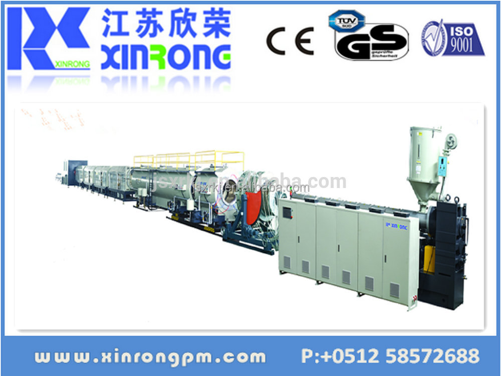 China Xinrong best selling electric pvc pipe production machine