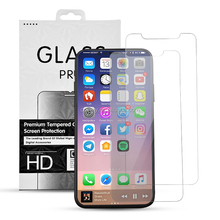 New arrival 2.5 D Screen Protector Tempered Glass ,for iPhone X Tempered Glass Screen Protector