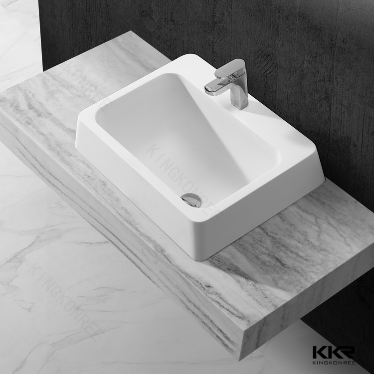 Fancy Deep Bathroom Sinks,solid Surface Sink