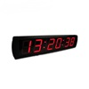Ganxin 2019 rectangle led clock wall digital clock