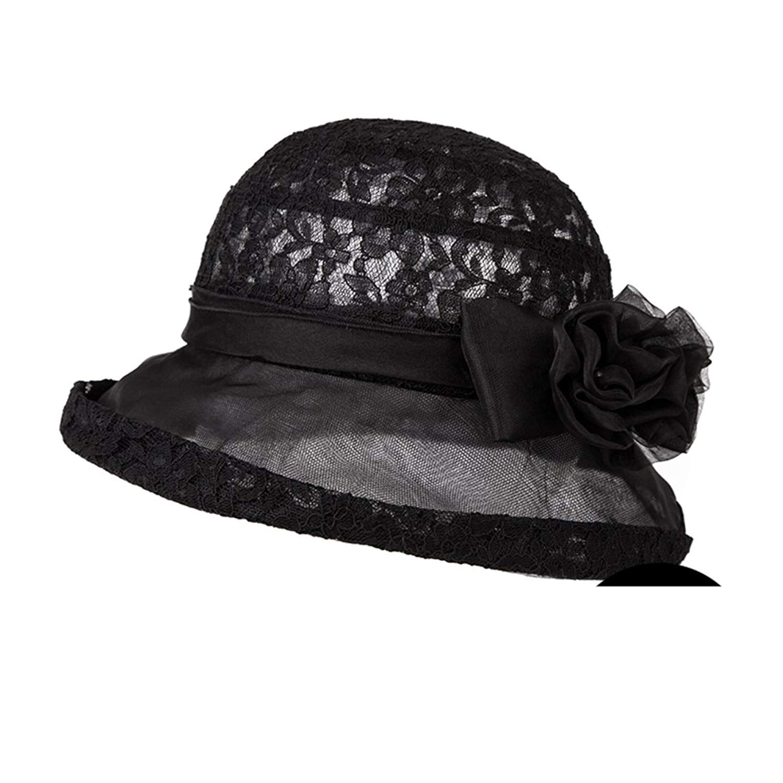 Hats for Women/Summer sunhat/Korean version of the silk gauze Sun Hat/Bow Hat/Sun Hat/Fisherman Hat/Bucket Hat