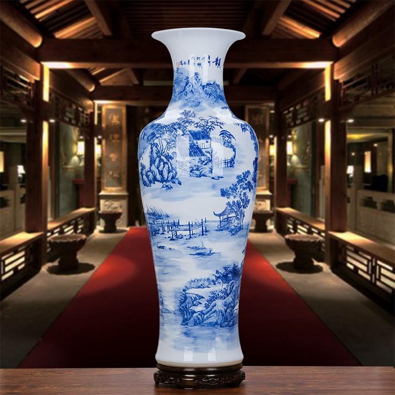 vase grande taille Belle Grande Taille Chinois Décoratif Vases En Céramique Pour La Décoration  ...