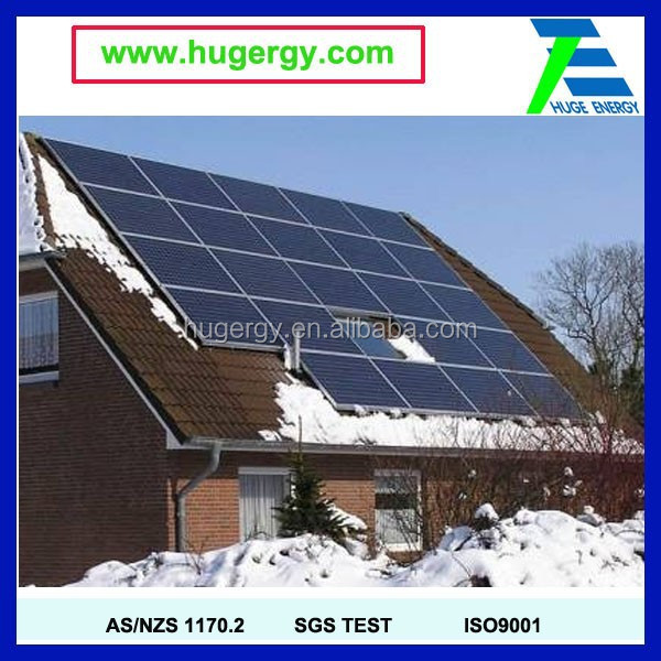 solar panel roof Mounting structure Aluminium Solar Roof Mounting Systems