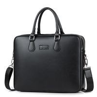 best executive 15 inch modern luxury soft ladies black leather briefcase laptop bag