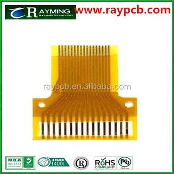 China Fpc Manufacturer,Fpcb For Lcd Display,Yellow Flexible Pcb ...