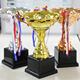 Wholesale Cheap Custom Design Basketball Baseball Bodybuilding Blank League Sport Award Metal Trophy Cup