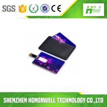 Hot customized logo usb flash drive card business card for promotional gift