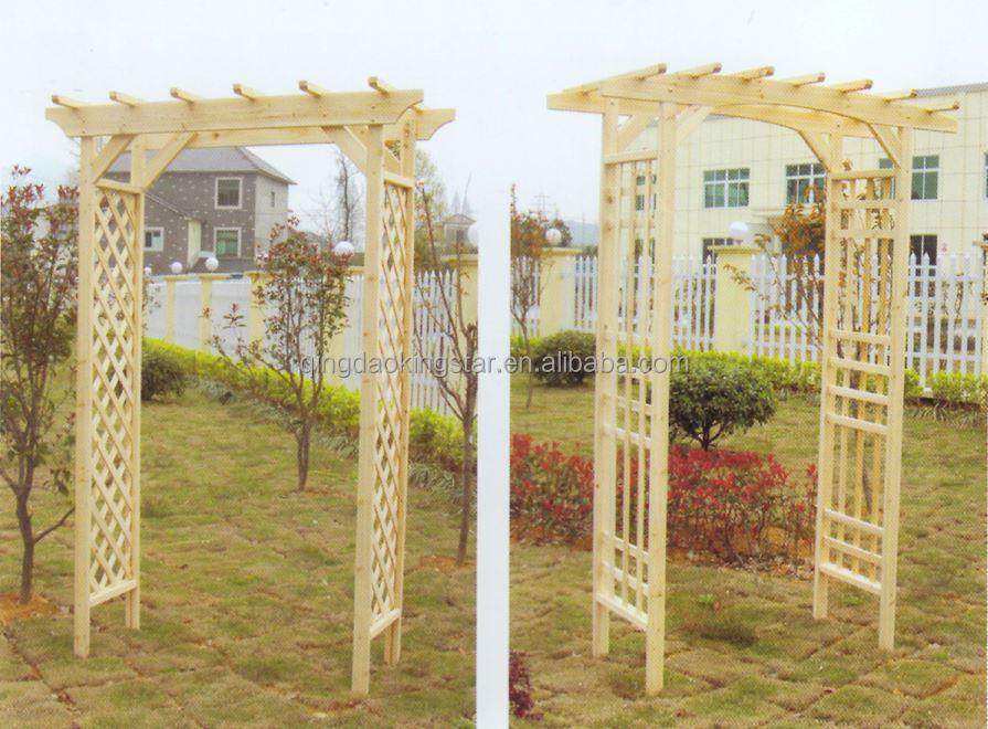 arche de jardin en bois pas cher perfect arche de jardin. Black Bedroom Furniture Sets. Home Design Ideas