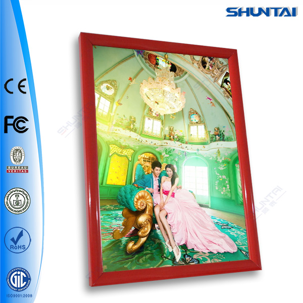 advertising snap frame poster frame flip open frame A5