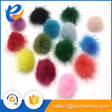 Top Quality fur pom mink fur ball for accessories
