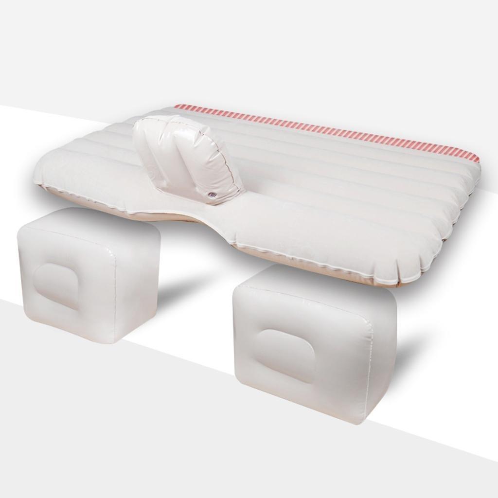 GOUGOU With inflatable pump / car portable sleeping pad / car inflatable mattress / car rear air cushion travel bed / car shock bed