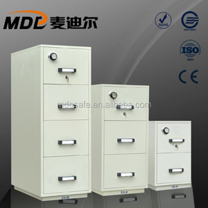 Good Quality Fire Resistance Filing Cabinet Safe For Vital Information
