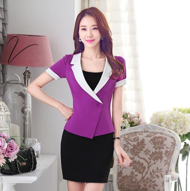 oficina de se241ora suits negocios mujer trajes uniforme