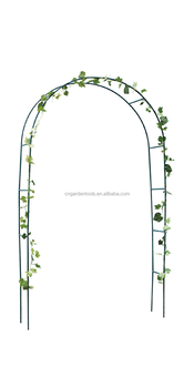 Beautiful ... Green Color Yard Arches Flower Decorative 60293717472 On Garden Box  Wood Type ...