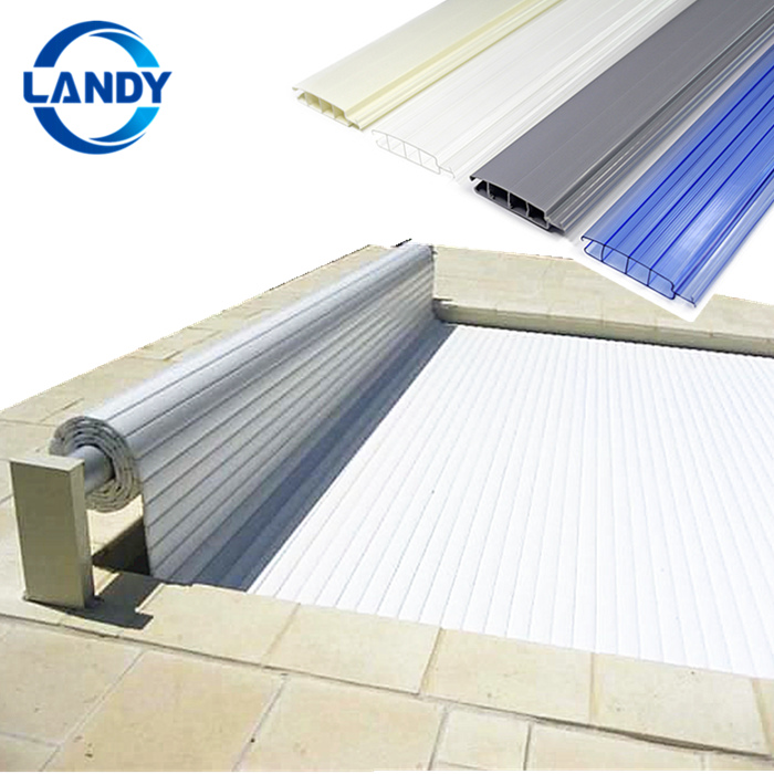 Uv Resistance Automatic Swimming Pool Cover,Pc Slats Swimming Pool Safety  Cover - Buy Automatic Swimming Pool Cover,Polycarbonate Blade ...