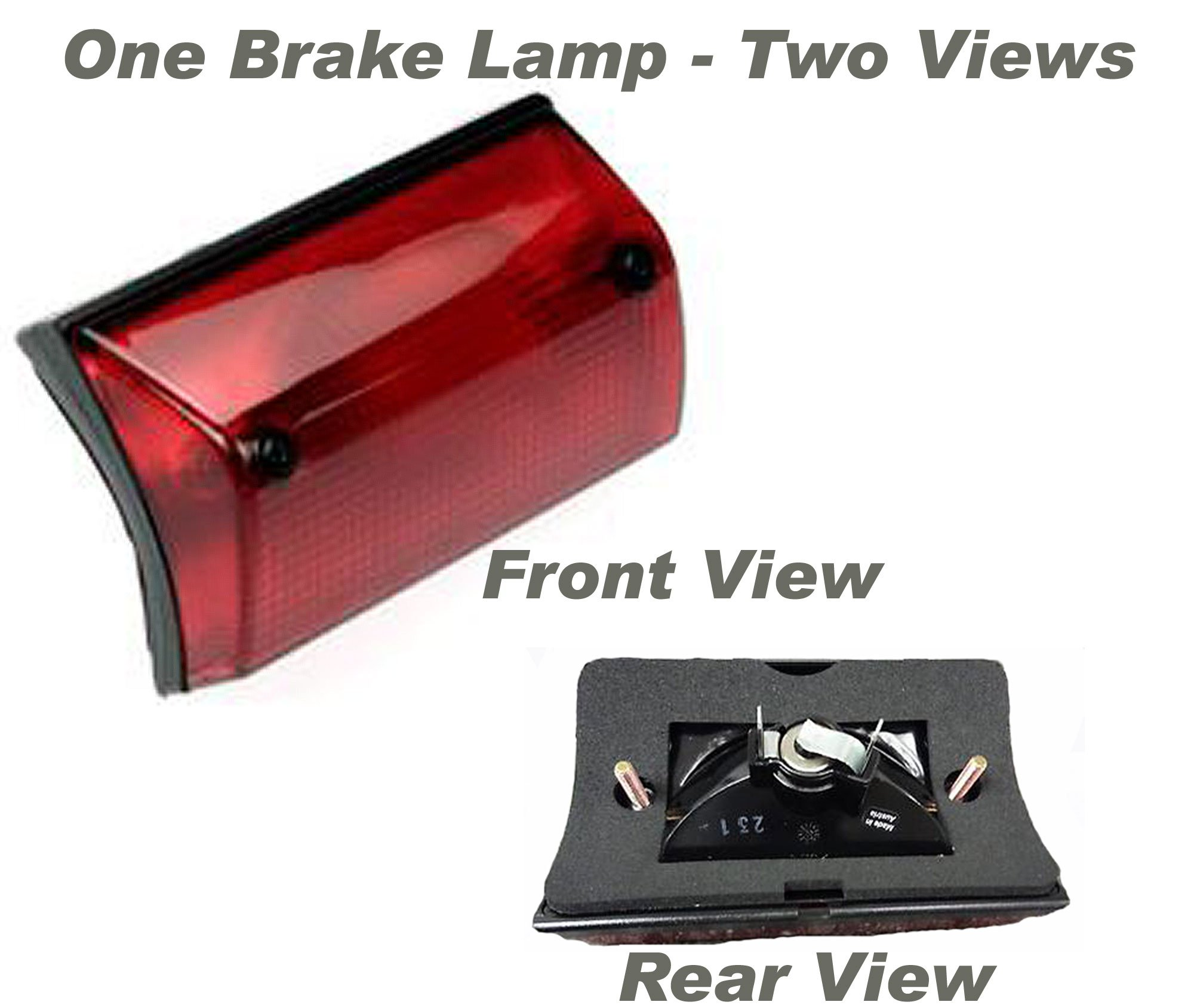 Replaces 5124473AA, 5124473AB APDTY 034345 Third 3rd Center Mount Brake Light//Lamp Assembly Fits 2003-2005 Dodge Sprinter 2500 and 3500 Except High Roof Models