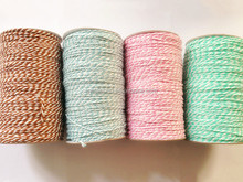Printed Paper twine string/Colorful rope