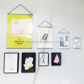 Acrylic Frame,Magnetic Picture Frames,Clear Stand In Wall Hanging ...