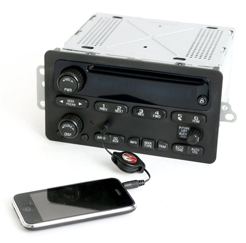 Get Quotations · Chevy Trailblazer GMC Envoy 2002-2003 Radio AM FM CD w  Auxiliary Input 15195521