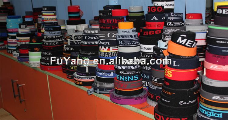 Small Moq 25Mm Custom Polyester Shiny Woven Logo Jacquard Webbing Strap For Safety Belt