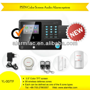 HOT call system device PSTN color screen Alarm YL--007TF auto dialer home alarm