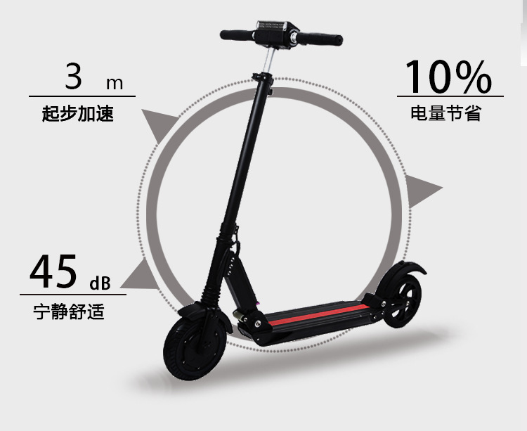 2020 iEZway China electric scooter foldable smart two-wheels electric scooter smart electric skateboard with LCD Display